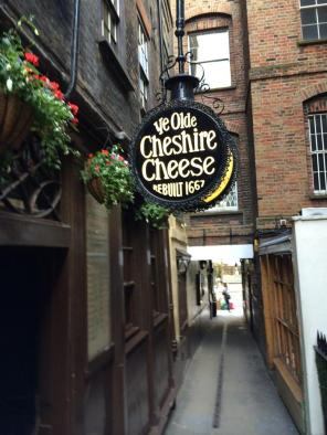 Ole Cheshire Cheese