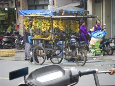 Street seller Saigon